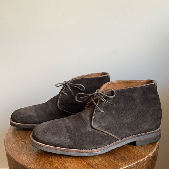 Carlos Brown Suede Chukka Boots | Poshmark